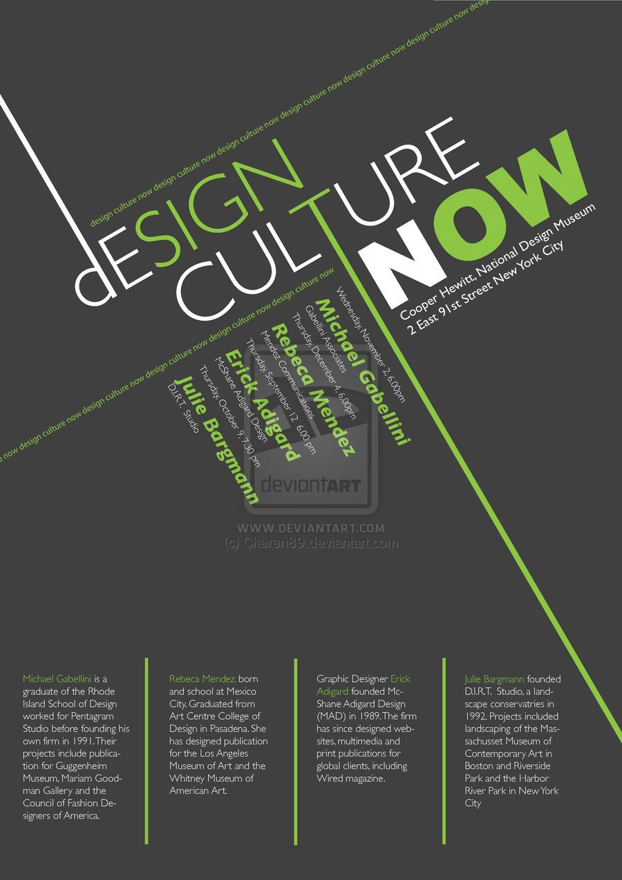 Poster design hierarchy - Poster_design_culture_by_cheren89 This Is A Poster About Design Culture Hierarchy