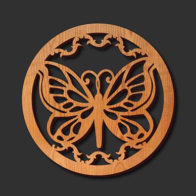 Butterfly-Trivet-Rendering